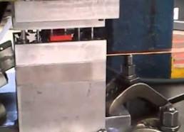 Fabricacion piezas en prensa